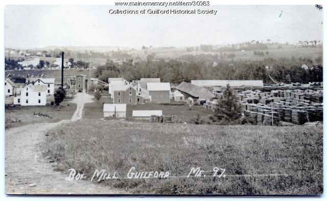 View of Guilford from High Street, ca. 1915