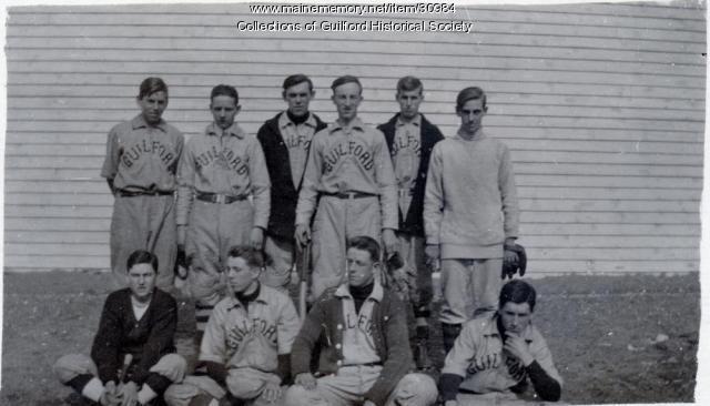 Guilford Baseball Team, ca. 1920