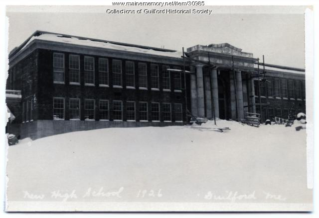 Guilford High School Construction, 1926