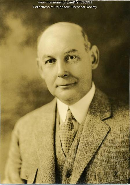 Stephen A. Ellison, Brunswick, ca. 1930