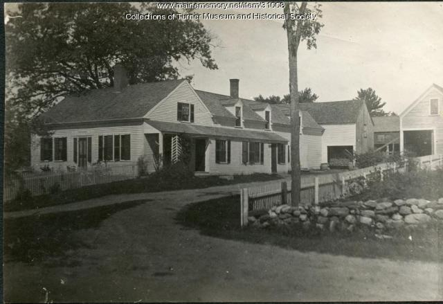 J. F. Quimby Residence, North Turner, ca. 1910