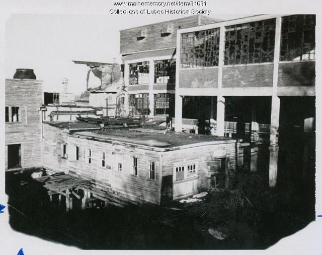 American Can Co. factory, Lubec, ca. 1987