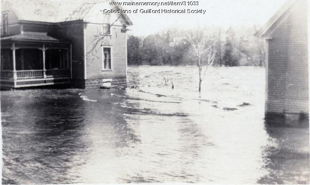 River Street Flood, Guilford, 1923