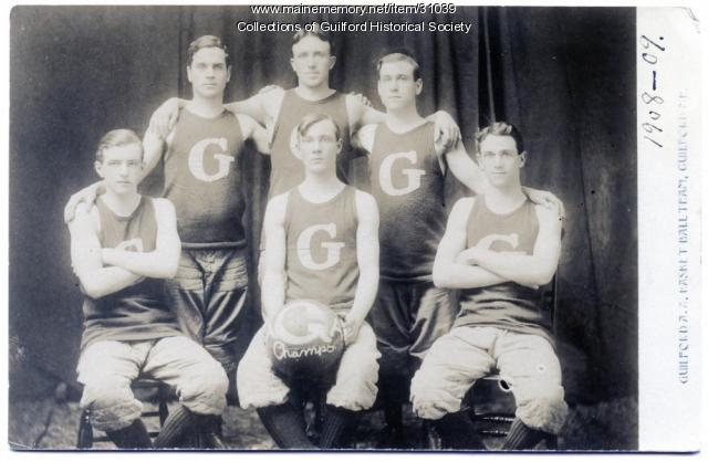 Guilford A. A. Semi-Pro Basketball Team, 1908-09