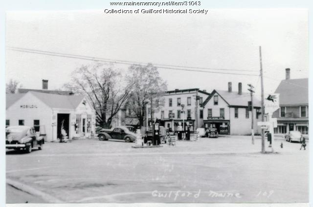 Bank Square, Guilford, ca. 1941