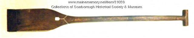 Turf Spade, Scarborough, ca. 1850