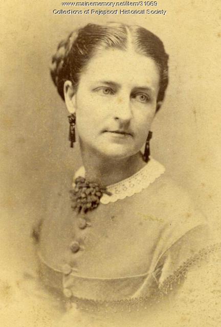 Kate Furbish, Brunswick, ca. 1880