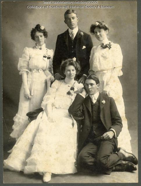 Scarborough High School graduates 1902