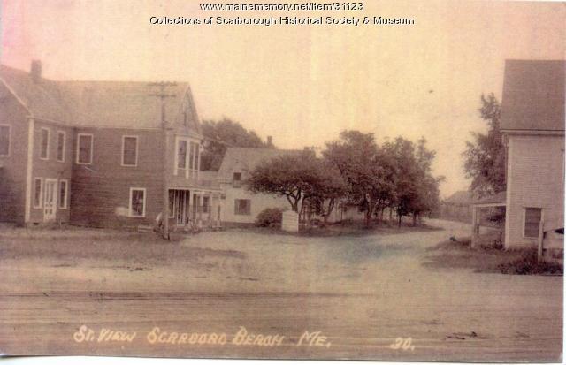Road leading to Scarboro Beach, ca. 1890