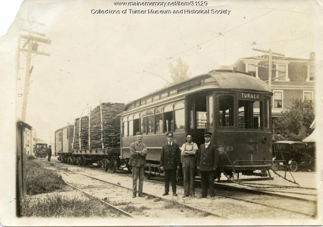 Turner Railroad, Auburn, ca. 1925