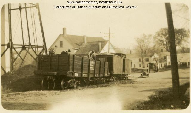 Last Train Trip, Turner, 1928