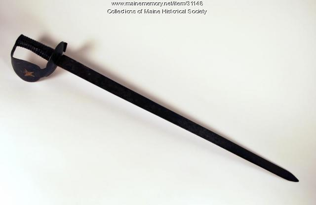 British naval cutlass, ca. 1804