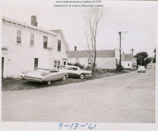 Washington Street, Lubec, 1961