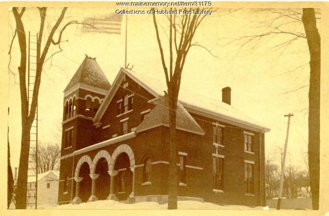 High School, Hallowell, ca. 1900