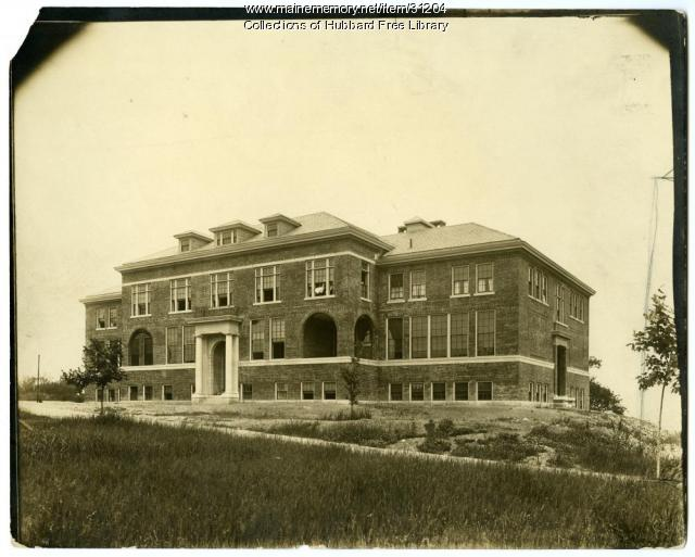 Industrial School for Girls, Winthrop Hill, Hallowell, ca. 1919