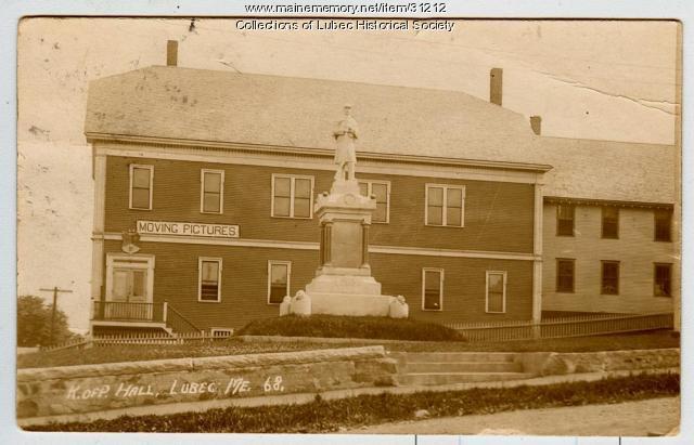 Knights of Pythias Hall, Lubec, ca. 1912