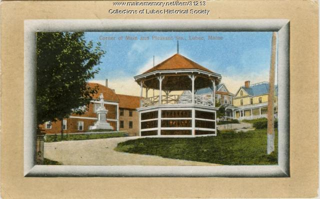 Bandstand, Lubec, ca. 1910