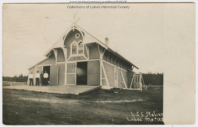Life Saving Station, Lubec, ca. 1905