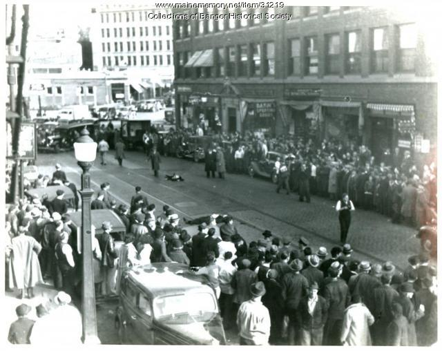 Brady Gang shooting, Bangor, 1937