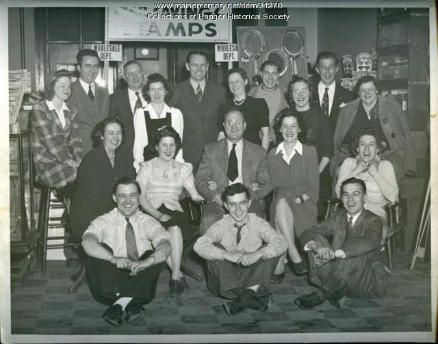 Dakin Store Staff, Bangor, ca. 1940
