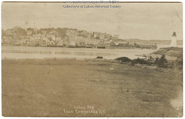 View from Campobello Island, ca. 1895