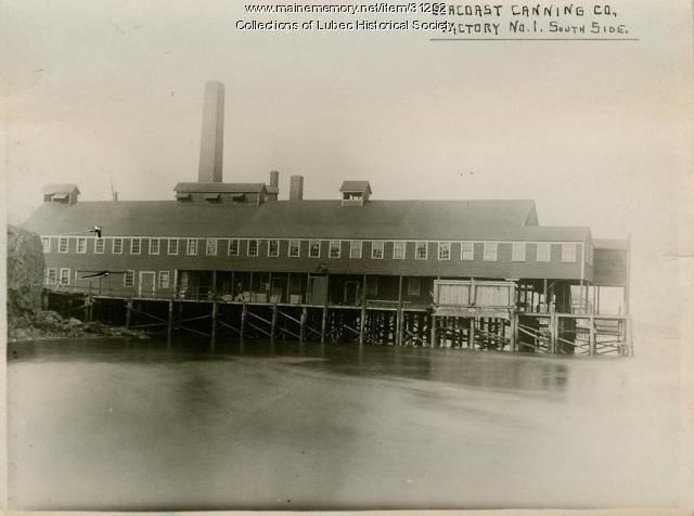 Seacoast Canning Co., Lubec, 1920