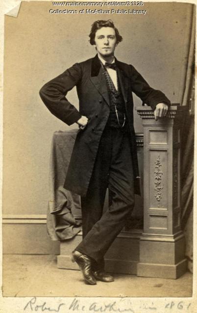 Robert McArthur, Biddeford, 1861