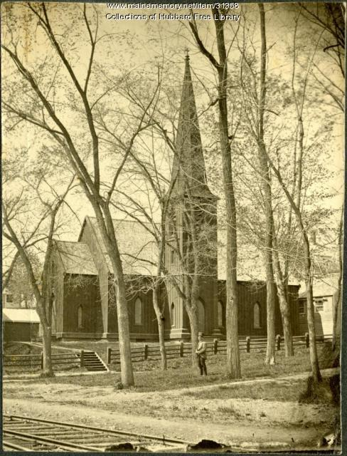 St. Matthew's Episcopal Church, Hallowell, ca. 1890