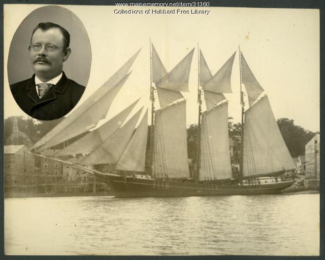 Captain Lyman W. Lyons, Hallowell, ca. 1890