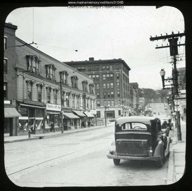 Hammond St., Bangor, ca. 1945