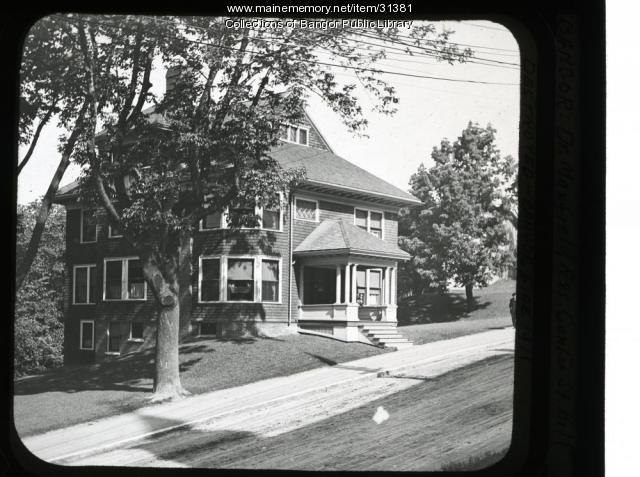 Dr. Maxfield's Residence, Bangor, ca. 1911
