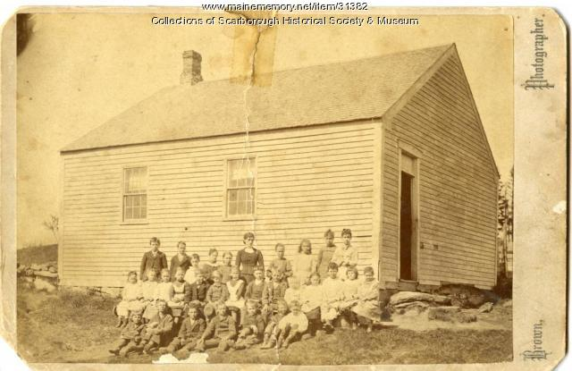 Beech Hill School, Scarborough, ca. 1879