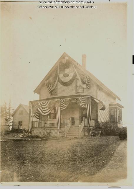Centennial decor, Lubec, 1911