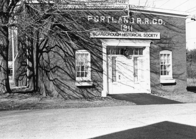 Scarborough Historical Society and Museum Building, ca. 1964