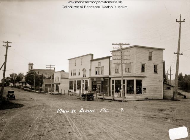 Main Street, Blaine, ca. 1915