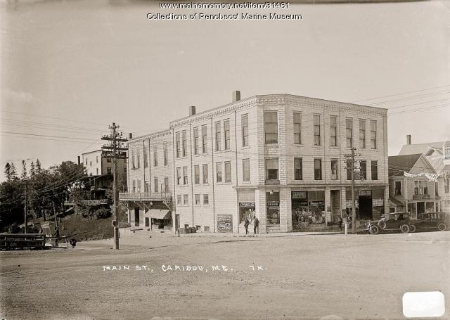 Main Street, Caribou, ca. 1920