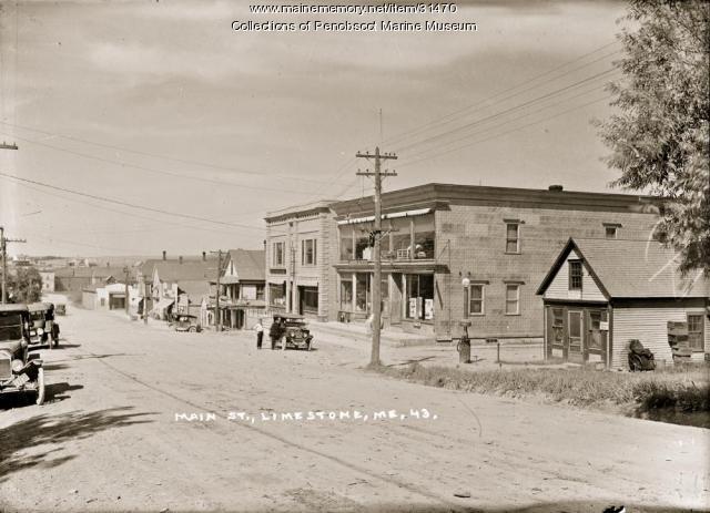 Main Street, Limestone, ca. 1915