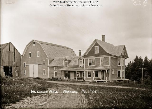 Wessenger Place, Masardis, ca. 1910