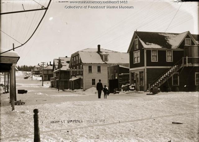Main Street, Smyrna Mills, ca. 1910