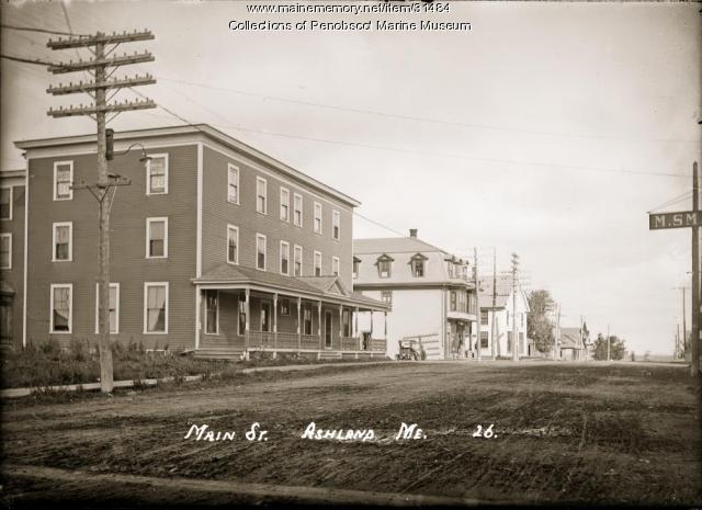 Main Street, Ashland, ca. 1920