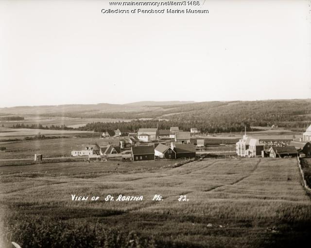View of St. Agatha, ca. 1915