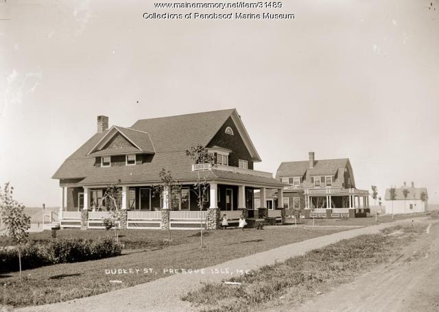 Dudley Street, Presque Isle, ca. 1920