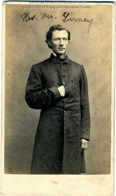 Rev. Leander P. Gurney, Brunswick, ca. 1860