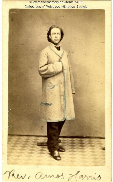 Rev. Amos Harris, Brunswick, ca. 1859