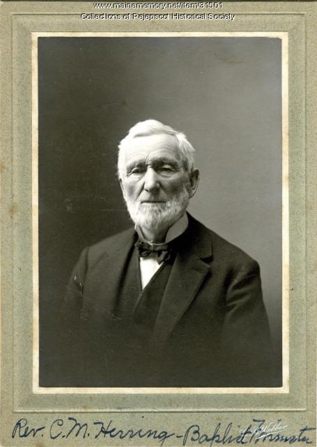 Rev. Charles M. Herring, Brunswick, ca. 1865