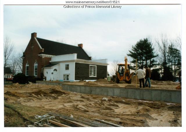 Prince Memorial Library, Cumberland, 1985