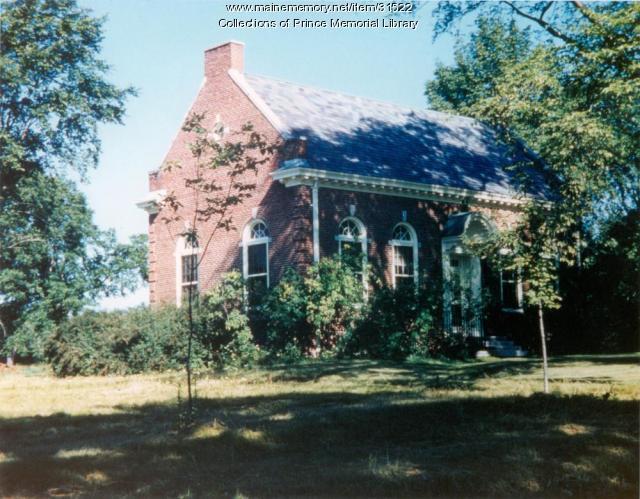 Prince Memorial Library, Cumberland, ca. 1955