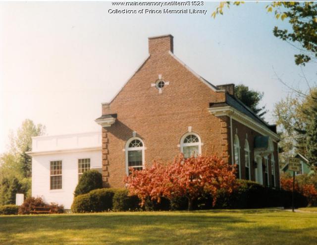Prince Memorial Library, Cumberland, ca. 1960