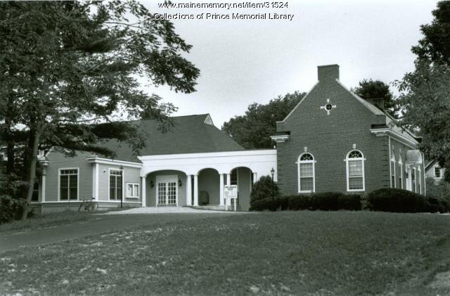Prince Memorial Library, Cumberland, ca. 1988