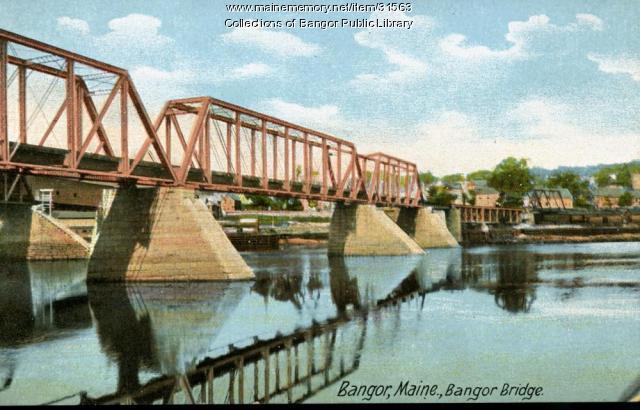 Bangor Bridge, ca. 1905